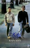 """Dustin Hoffman Signed 12"""" x 18"""" Rain Man Movie Poster - Beckett COA - Beckett"""