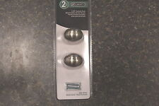 "NEW PN0393L-SN-U LIBERTY 1 3/8"" FOOTBALL KNOB SATIN NICKEL  NEW"