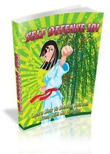 Self Defense 101 Ebook On CD $5.95 Plus Resale Rights Free Shipping