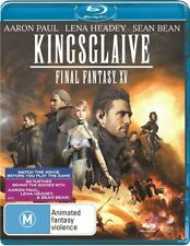 Kingsglaive - Final Fantasy XV - Blu-ray - NEW & sealed - AUS Reg B Sean Bean