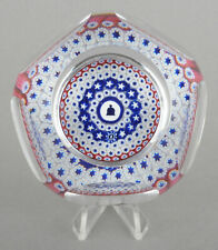 Whitefriars Glass LE 1976 Bicentenary Of Independance Millefiori Paperweight
