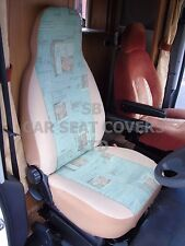 TO FIT A TALBOT EXPRESS MOTORHOME, SEAT COVERS, GREEN FERN MH-152
