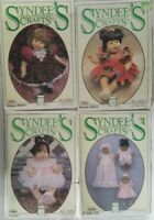 Syndees Crafts Doll Clothes 4 Sew Patterns Precious Victoria Baby Doll Playtime