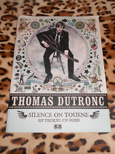 Partitions guitare tablatures - Thomas Dutronc : Silence on tourne - 2012