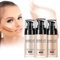 3 Colors Makeup Base Face Color Correction Liquid Foundation Moisture Concealer