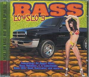 PANDISC BASS CD - Bass Lo And Slo 3