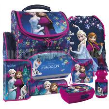 Frozen Anna und Elsa Schulranzen Schulranzenset Tornister Ranzen Set 7 teilig #