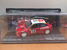"DIE CAST "" CITROEN XSARA KIT CAR RALLY CATALUNYA 1999"" PASSIONE RALLY SCALA 1/43"