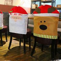 PT_ Cn _ Babbo Federa Della Sedia Natale Tavolo da Pranzo Poltrona Copri-Schie