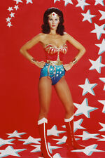 LYNDA CARTER WONDER WOMAN 36X24 POSTER STARS BACKDROP