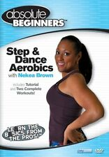STEP & DANCE AEROBICS with NEKEA BROWN  - DVD - UK Compatible -  sealed