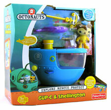NEW Fisher-Price Octonauts Shellington Gup C Launch & Rescue Vehicle LAST ONE