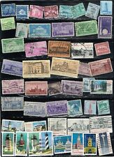 (11-953) 45+ Architecture Cancelled  USA  Postage sTamps