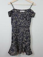 ZARA | Womens Print off shoulder Dress [ Size S or AU 8 or US 4 ]