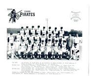 1969 YORK PIRATES PITTSBURGH 8X10 TEAM PHOTO BASEBALL EASTERN LEAGUE
