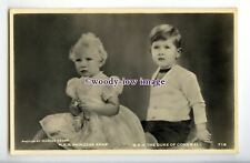 r2710 - Todddler Princess Anne & big Brother Charles, by Marcus Adams - postcard