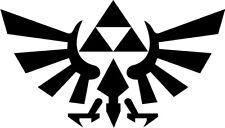 Legend of Zelda Hyrule Crest TriForce VINYL DECAL Sticker Car Window Laptop 4