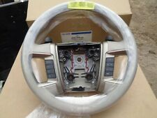 FORD AE9Z-3600-AA 2010 2011 2012 LINCOLN MKT STEERING WHEEL LEATHER W/CONTROLS