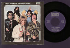 """7"""" ROLLING STONES JUMPIN' JACK FLASH / CHILD OF THE MOON ITALY 1968 EX+ / EX+"""