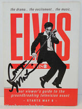 ELVIS WEEK ON CBS - PROMO Guidebook SIGNED / AUTOGRAPH Camryn Manheim as Gladys