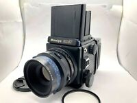【 EXC+5 】Mamiya RZ67 PRO Film Camera + SEKOR Z 140mm F4.5 Macro Lens From Japan