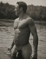 1990 Vintage BRUCE WEBER Outdoor Nude Male JOHN Adirondack Park Lake Photo Art