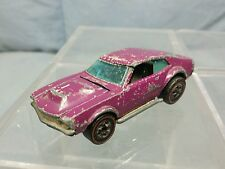 Vintage Mattel Hot Wheels: Redline 1969 STREET SNORTER Plum Purple Super Rare HK