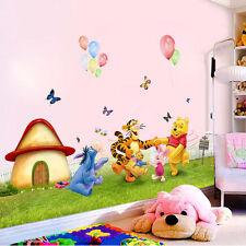 Winnie The Pooh Wall Sticker Vinyl Decal Decor Removable Nursery Kids Baby