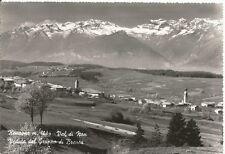 160556 TRENTO RONZONE - Val di NON - BRENTA Cartolina FOTOGRAFICA viaggiata 1962
