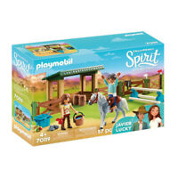 70119 Playmobil Spirit Riding Arena with Lucky & Javier Spirit Riding Free Suita
