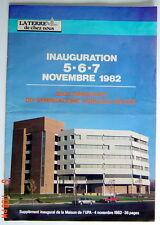 SUPPLÉMENT JOURNAL AGRICOLE LA TERRE DE CHEZ NOUS DE 1982, INAUGURA. MAISON UPA