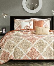 Madison Park Claire 6-Pc. Quilted Coverlet Set - KING / CALIFORNIA KING - Spice