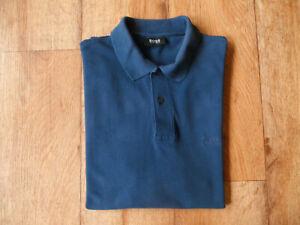 HUGO BOSS ° Poloshirt ° Gr. XXL/2XL ° blau ° Piqué