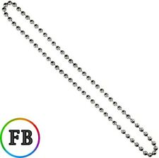 METAL CHAIN FOR ROMAN ROLLER VERTICAL BLINDS CONTINUOUS LOOP 1M DROP..