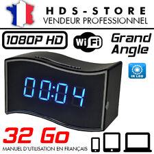 RÉVEIL CAMÉRA ESPION IP WIFI RVLIP6 FULL HD 1080P + MICRO SD 32 GO INFRAROUGE