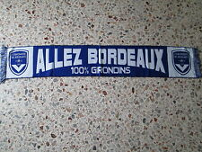 d1 sciarpa BORDEAUX FC football club calcio scarf bufanda francia france