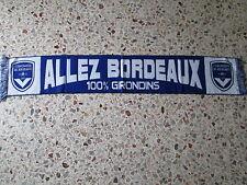 d1 sciarpa BORDEAUX FC football club calcio scarf bufanda francia france