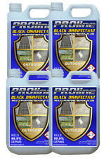 4 X 5 LTR BLACK FLUID/OUTDOOR FLUID DISINFECTANT VERY STRONG DILUTES 33:1