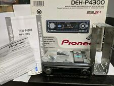 Pioneer DEH-P4300 CD Player Tuner Auto Radio Car Stereo MOSFET 50Wx4 with Remote