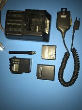 YAESU FT-23R VHF 2M HANDHELD RADIO + QUICK CHARGER + EXTERNAL MIC SPEAKER
