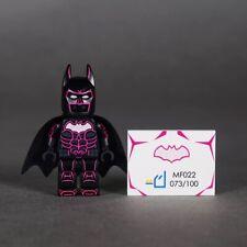 ⎡MINIFIGS FACTORY⎦Custom Neon Pink Batman Lego Minifigure