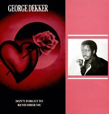 George Dekker-Don 't Forget To Remember me/LP