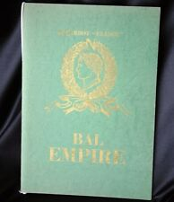 "CGT FRENCH LINE SS ""FRANCE"" Bal Empire Program 1969"
