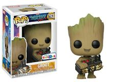 Funko Pop! Guardians of the Galaxy Vol 2 GROOT & BOMB Toys R Us EXCLUSIVE NEW