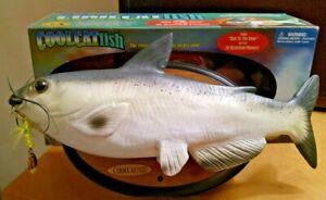 Cool Catfish - Singing Fish Decor - by Gemmy - WORKS