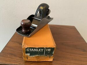 Vintage Stanley No 110 Block Plane. Boxed. Made in England