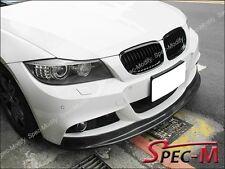 AK Style Carbon Fiber Bumper Spoiler For E90 E91 328i 335i w/ M Tech 2009+