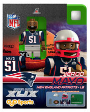 Jerod Mayo OYO NFL 2015 AFC CHAMPS SUPERBOWL XLIX 49 New England Patriots