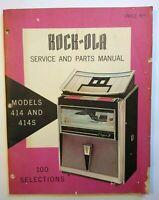 ROCK-OLA 461 JUKEBOX  part Tested /& Working  POPULARITY METER