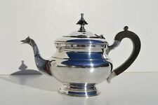 FINE ANTIQUE SILVER PLATED TEAPOT/COFFEE POT WITH A BIRD HEAD AS SPOUT
